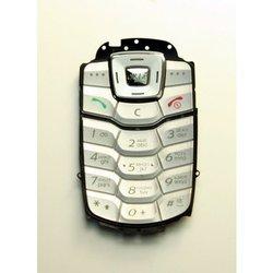 Клавиатура для Samsung X650 (14354) (серебристая)