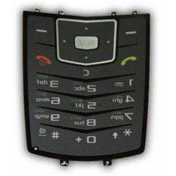 Клавиатура для Samsung М600 (14340) (серебристая)