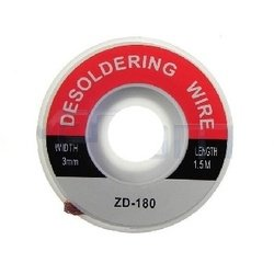 Плетенка для снятия припоя ZD-180 (14712) (3.0 мм)