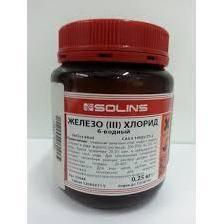 Железо хлорное 6-ти водное FeCl3 250 г (10820)
