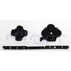 Кнопки для Sony PSP 2000 (9674) (черные)