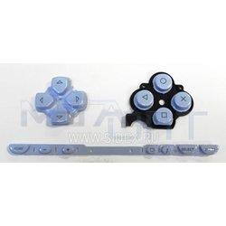 Кнопки для Sony PSP 2000 (8208) (светло-голубые)