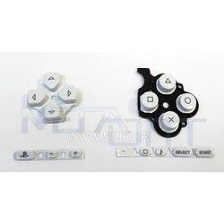 Кнопки для Sony PSP 3000 (9676) (белые)