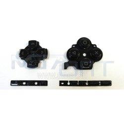 Кнопки для Sony PSP 3000 (9046) (черные)