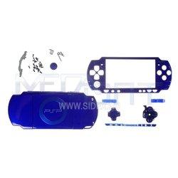 Корпус в сборе для Sony PSP 2000 синий
