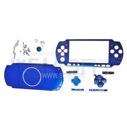 Корпус в сборе для Sony PSP 3000 синий