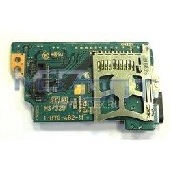 Левая микроплата с картоприемником для Sony PSP 1000 (7004)