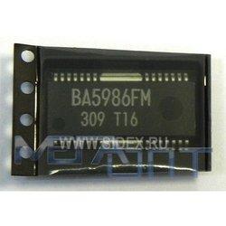 Микросхема управления двигателями и лазером BA5986FM (9579)