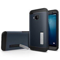 Чехол-накладка для HTC One M9 Slim Armor Series (Spigen SGP11387) (металлический)