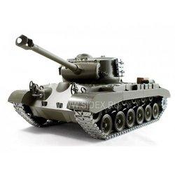 Радиоуправляемый танк HENGLONG U.S M26 Pershing (зеленый)
