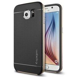 Чехол-накладка для Samsung Galaxy S6 Neo Hybrid (Spigen SGP11321) (шампань)