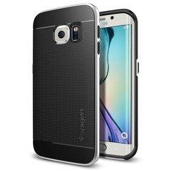 Чехол-накладка для Samsung Galaxy S6 Edge Spigen Neo Hybrid (SGP11420) (серебристый)
