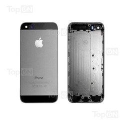 Задняя панель для смартфона Apple iPhone 5S (TopON TOP-iP5S-BC-B) (черный-серебристый)