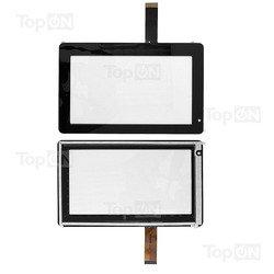 Тачскрин для планшета Explay Informer 701, 702, 703, Ritmix RMD-721, Onda V701, VI10 (TopON TOP-EI-701) (черный)