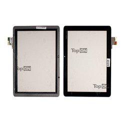 Тачскрин для планшета Acer Iconia Tab A510, A511, A700, A701 (TopON TOP-AIT-A510) (черный)