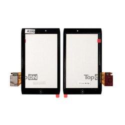 Тачскрин для планшета Acer Iconia Tab A100, A101 (TopON TOP-AIT-A100) (черный)