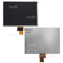 Матрица для планшета Ritmix RMD-830, Explay informer 801, DIGMA IDxD8 3G (TopON TOP-X-80L-RMD830) (серый)