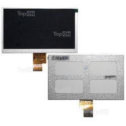 Матрица для планшета Explay MID-725, TeXet TM-7022, Iconbit NetTab Slim Pro, Ramos w17pro, Favorite F7-GPS (TopON TOP-WSV-70L-TM7022) (серебристый)