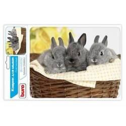 Коврик для мыши (Buro BU-M40092) (кролики)