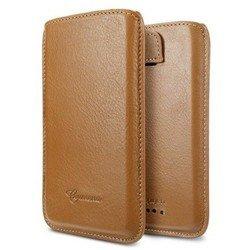 Чехол для HTC One X (SGP Crumena Slim Pouch SGP09078) (коричневый)