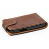 Чехол-флип для Samsung Nexus S i9020 (CD121270) (коричневый) - Чехол для телефонаЧехлы для мобильных телефонов<br>Плотно облегает корпус и гарантирует надежную защиту от царапин и потертостей.<br>