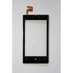 Тачскрин для Nokia Lumia 520, 525 с установочной площадкой (54714) (черный)