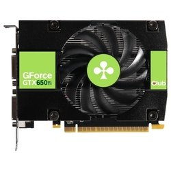 club-3d geforce gtx 650 ti 928mhz pci-e 3.0 1024mb 5400mhz 128 bit 2xdvi mini-hdmi hdcp
