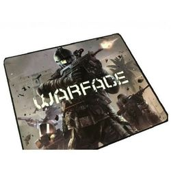 Коврик Qcyber Crossfire Expert + бонус код WarFace (черный)