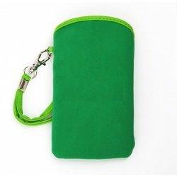 Универсальный чехол-футляр с ремешком для телефонов (CD012576) (зеленый)
