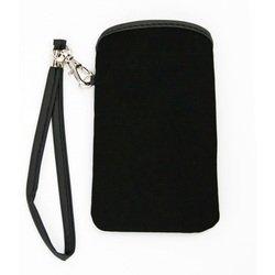 Универсальный чехол-футляр с ремешком для телефонов (CD012577) (черный)