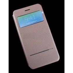 "Чехол-книжка для Apple iPhone 6 Plus, 6s Plus 5.5"" (R0007556) (золотистый)"