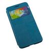 Кожаный чехол-книжка для Samsung Galaxy Alpha G850 (R0007499) (синий) - Чехол для телефонаЧехлы для мобильных телефонов<br>Плотно облегает корпус и гарантирует надежную защиту от царапин и потертостей.<br>