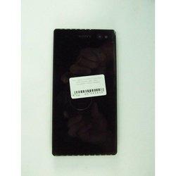 Дисплей для Sony Xperia C3 D2533, D2502 с тачскрином (65839) (черный)