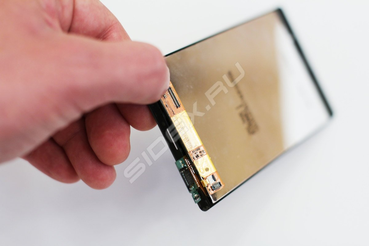 Sony Xperia Z3 экран