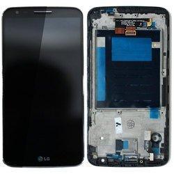 Дисплей для LG G2 D802 с тачскрином (63046) (черный)