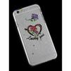 Чехол-накладка для Apple iPhone 6, 6s 4.7 (R0006186) (Сердце Lucky Girl) - Чехол для телефонаЧехлы для мобильных телефонов<br>Плотно облегает корпус и гарантирует надежную защиту от царапин и потертостей.<br>