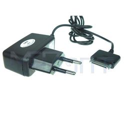 Сетевое зарядное устройство Евровилка- 30-pin для Apple iPhone 3GS, 4, 4S, iPad, 2, 3 new, iPod Nano 6, touch 4 (15705) (черный)