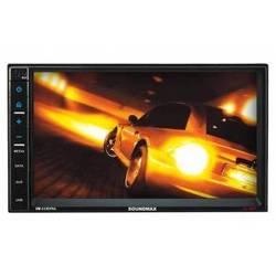 Автомагнитола Soundmax SM-CCR3704 (черный)