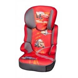 Автокресло детское от 15 до 36 кг (Nania Befix SP Disney cars) (красный)