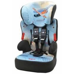 Автокресло детское от 9 до 36 кг (Nania Beline SP Disney Planes) (черно-голубой)