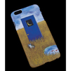 Чехол-накладка для Apple iPhone 6 Plus, 6s Plus 5.5 (R0007183) (Кот на лугу) - Чехол для телефонаЧехлы для мобильных телефонов<br>Плотно облегает корпус и гарантирует надежную защиту от царапин и потертостей.<br>