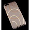 Чехол-накладка для Apple iPhone 6 Plus, 6s Plus 5.5 (R0006420) (Круги) - Чехол для телефонаЧехлы для мобильных телефонов<br>Плотно облегает корпус и гарантирует надежную защиту от царапин и потертостей.<br>
