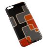 Чехол-накладка для Apple iPhone 6 Plus, 6s Plus 5.5 (R0006428) (Оранжевые квадратики) - Чехол для телефонаЧехлы для мобильных телефонов<br>Плотно облегает корпус и гарантирует надежную защиту от царапин и потертостей.<br>