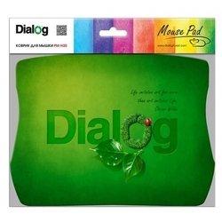 Коврик для мыши Dialog PM-H20 (зеленый с рисунком)