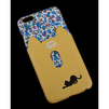 Чехол-накладка для Apple iPhone 6 Plus, 6s Plus 5.5 (R0007148) (Черная кошка с желтым кармашком) - Чехол для телефонаЧехлы для мобильных телефонов<br>Плотно облегает корпус и гарантирует надежную защиту от царапин и потертостей.<br>