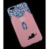 Чехол-накладка для Apple iPhone 6 Plus, 6s Plus 5.5 (R0007146) (Черная кошка с розовым кармашком) - Чехол для телефонаЧехлы для мобильных телефонов<br>Плотно облегает корпус и гарантирует надежную защиту от царапин и потертостей.<br>