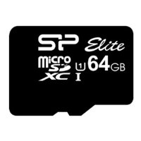 silicon power elite microsdxc 64gb uhs class 1 class 10