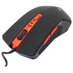 gembird musopti8-809u black-red usb