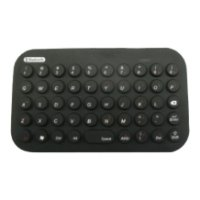 gembird kb-btf2-b black bluetooth