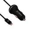 Автомобильное зарядное устройство USB + дата-кабель Apple 8-pin Lightning (ZTCC2AA8) (черный) - Автомобильное зарядное устройствоАвтомобильные зарядные устройства<br>Аксессуар предназначен для зарядки устройства от бортовой сети Вашего авто.<br>